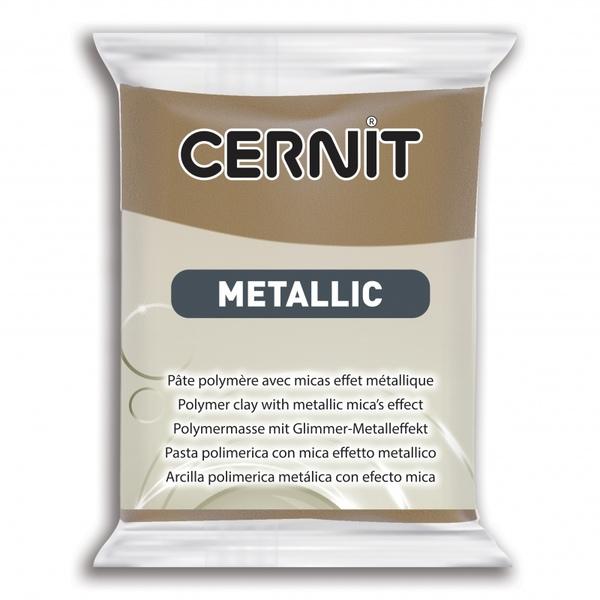 Arcilla Polimérica Cernit Metallic Bronce Antiguo