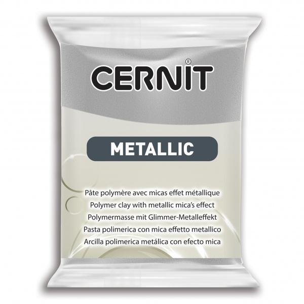 Arcilla Polimérica Cernit Metallic Plata