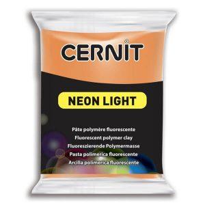 Arcilla Polimérica Cernit Neon Naranja