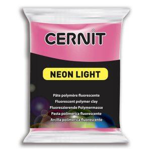 Arcilla Polimérica Cernit Neon Rosa