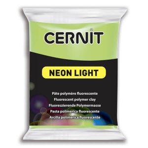 Arcilla Polimérica Cernit Neon Verde