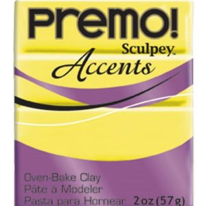 Arcilla Polimérica Premo Accents Amarillo Fluor