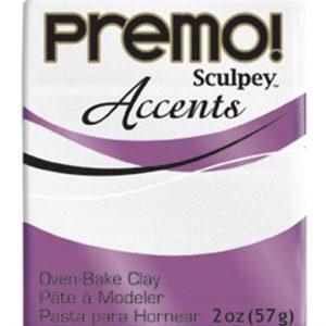 Arcilla Polimérica premo accents Blanco Escarcha