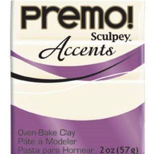 Arcilla Polimérica Premo Accents Blanco Translucido