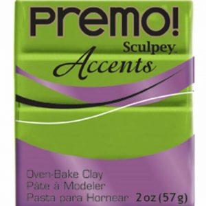 Arcilla Polimérica Premo Accents Verde Perlado