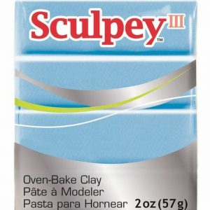 Arcilla Polimérica Sculpey Celeste Perlado