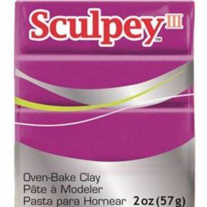 Arcilla Polimérica Sculpey III Fucsia Perlado