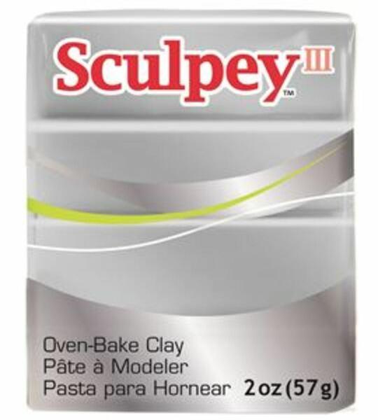Arcilla Polimérica Sculpey Plata