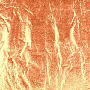 Hoja metálica cobre
