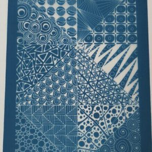 Moiko Silk Screen Patchwork