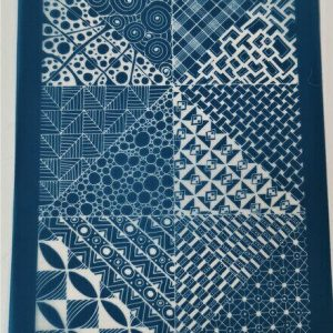 Moiko Silk Screen Patchwork4