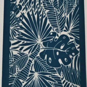 Moiko Silk Screen Tropical