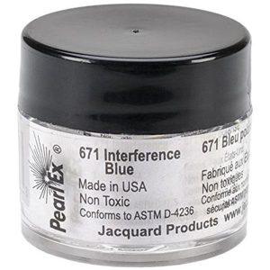 Pigmento Pearl-ex Azul Interferencia