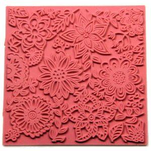 Placa de Textura Flores Primavera