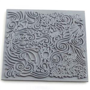 Placa de Textura Bajo el Mar