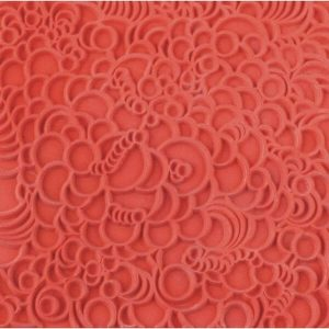 Placa de Textura Burbujas