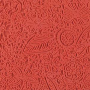 Placa de Textura Flores