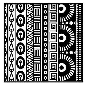 Placa de Textura Geometrías