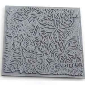 Placa de Textura Hojas