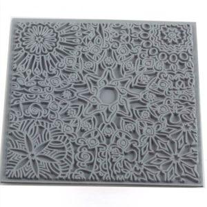 Placa de Textura Mandala