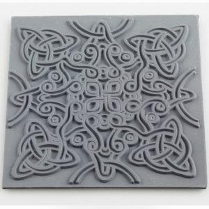 Placa de Textura Nudo Celta
