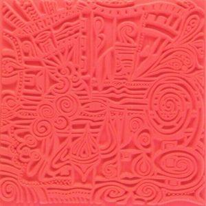 Placa de textura Pueblo