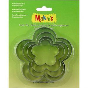 Set de Cortadores Makin's flor