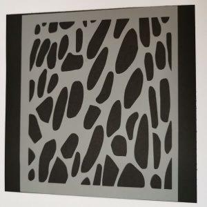 Stencil Animal Print