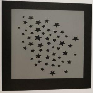 Stencil Estrellas