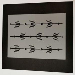 Stencil Flechas