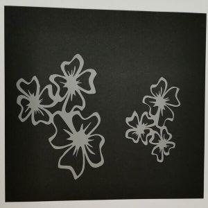 Stencil Flores