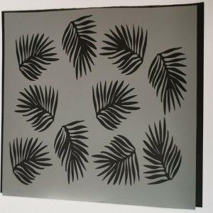 Stencil Hojas Tropicales
