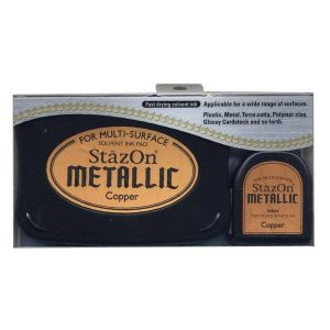 Set StazOn Metallic Copper