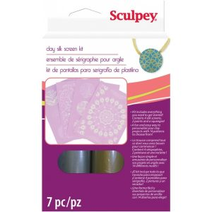 Sculpey Silk Screen Kit