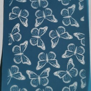 Moiko Silk Screen Mariposas
