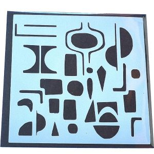 Stencil Inspiración Picasso