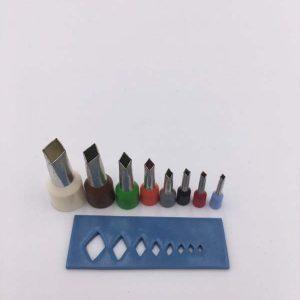 Micro cortadores rombo