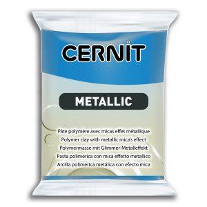 Arcilla Polimérica Cernit Metallic Azul