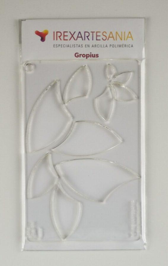 Plantilla de Corte Gropius bolsa