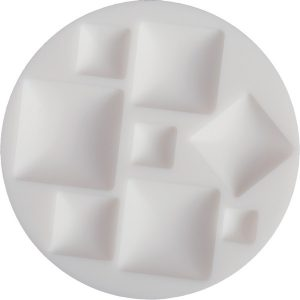 Molde silicona Cernit cuadrado