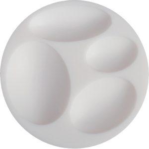 Molde silicona Cernit ovalado