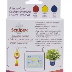 Pack arcilla líquida colores primarios